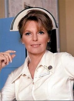 Julie London as Nurse Dixie McCall in 'Emergency'. Her husband was Dr, Joe Early on the show in reality!