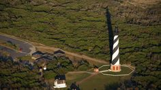 Cape Hatteras Lighthouse -- this lighthouse has been in my North Carolina imagination all my life.