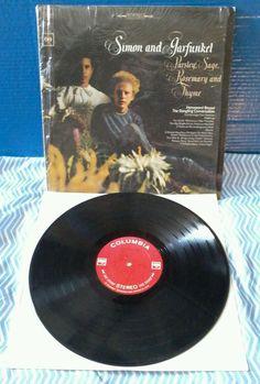Simon & Garfunkel LP Parsley, Sage, Rosemary And Thyme 1966 In Original Shrink  #FolkCountryRock