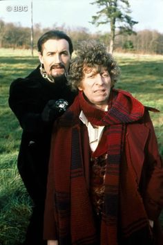 Doctor Who. The Doctor and The Master 4th Doctor, First Doctor, Doctor Who, Best Sci Fi Series, Tv Series, Time Lords, Dr Who, Great Friends, Toms