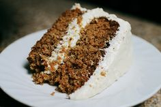 Hawaiian Carrot Cake by Spoonful of Sugar...sounds super yummy.