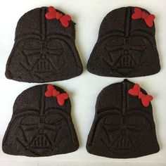 May the Fourth recipes: These Hello Vader Cookies at Just Jenn Recipes are cracking me up!