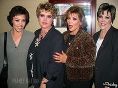 The Kardashians as they might look when they get much older...ha! Do you think it's accurate?
