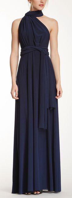 Maxi Convertible - Navy - Sugar Bits; Conyer wedding bridesmaid dress? (check back for size)