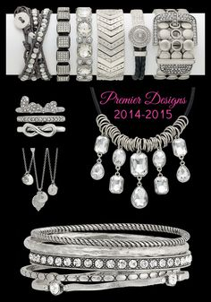2014*2015 Premier Designs Jewelry Collection. Erinault.mypremierdesigns.com with access code ICING