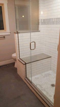 Master Bathroom Shower, Bathroom Renos, Remodel Bathroom, Budget Bathroom, Bathroom Remodeling, Remodeling Ideas, Walk In Shower Bath, Bathtub Shower, Bath Tub