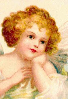 vintage angel