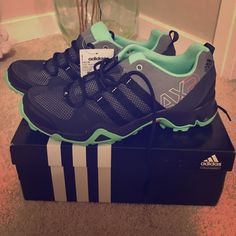 Adidas Women's hiking/outdoor shoe! Size 9.5! Adidas hiking and outdoor shoes! NEVER worn! Original price $89 Adidas Shoes Sneakers