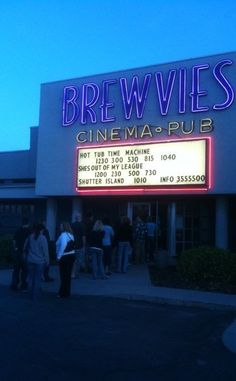 Brewvies Cinema Pub | Travel | Vacation Ideas | Road Trip | Places to Visit | Salt Lake City | UT | Local Dining | Drive-in Movie Theater | Offbeat Attraction | Bar