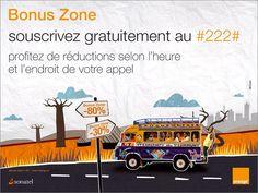 Campagne outdoor Bonus Zone de Orange, photographie Clément Tardif, agence McCann Erickson