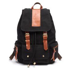 Vintage mochila de viaje Lona al por mayor para mujeres o hombres [AS90002] - €43.66 : bzbolsos.com, comprar bolsos online