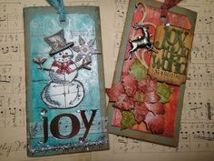 DSC04603 TIM HOLTZ 12 tags of December - it's no longer only 12 tags of christmas anymore and I didn't even know it.  I went to his blog today to start 12 tags of christmas and apparently he has been doing 12 tags every month all this year!  DOH!