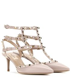 Redirecting you to Mytheresa for Valentino Valentino Garavani Rockstud leather pumps. Valentino Garavani, Valentino Rockstud Pumps, Valentino Shoes, Nude Pumps, Patent Leather Pumps, Leather Shoes, Luxury Shoes, Elegant, Shoe Collection
