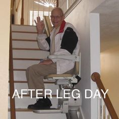 Leg day.. The struggle is real