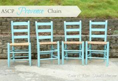 Decor & More: Annie Sloan Provence Chairs