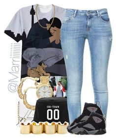 """""""0 To 100 N*gga Real Quick"""" by trill-forlife ❤ liked on Polyvore"""