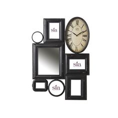 Clock - Mirror - Frames by Sia Home collection