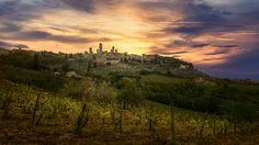 The City of Towers - San Gimignano and its surroundings, Tuscany, Italy Tuscany Italy, Towers, Monument Valley, San, City, Nature, Travel, Naturaleza, Viajes