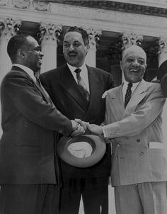 October 2, 1967: Thurgood Marshall is sworn in as an Associate Justice of the United States Supreme Court, serving from October 1967 until October 1991. Marshall was the Court's 96th justice and its first African-American justice.