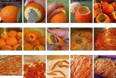 Фото к рецепту: Цукаты из апельсиновых корок