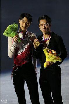Yuzuru Hanyu & Daisuke  Takahashi: ISU Grand Prix of Figure Skating Final 2012