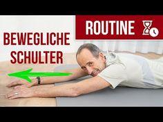 Schulterschmerzen effektiv loswerden ➡️ Mit dieser Schulter-Routine! (Übungen) - YouTube Sports Training, Pilates, Health Fitness, Wellness, Youtube, Stark, Fitness Workouts, Stretching, Form