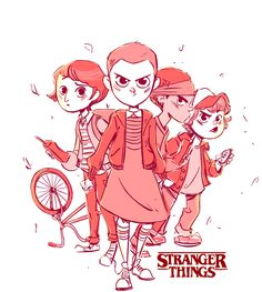 Stranger Things Fan Art on Behance