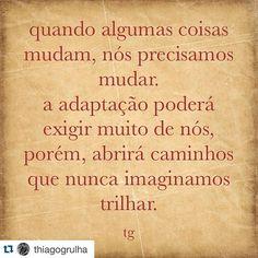 #Repost @thiagogrulha with @repostapp. ・・・ #mudança #eucreio