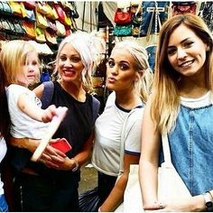 They are all pretty girls: Lux's cuteness Lou's styles Lottie's pout Gemma's dimple!!!!!! (Gemma and lux are the cutest cause they did not pose for the photo as if they knew theyre gonna look cute)