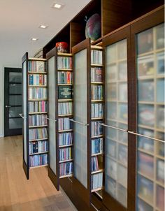 Seriously cool dvd storage