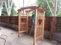 A trellis I built