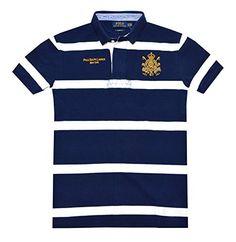 Polo Ralph Lauren Men Custom Fit Embroidery Designer Logo Polo Shirt.