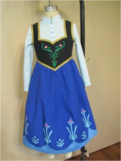 Tutorials for Anna and Elsa costumes