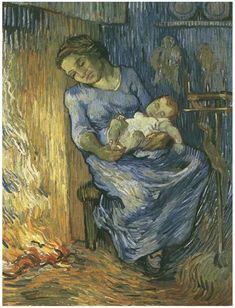 Man is at Sea (after Demont-Breton), The by Vincent Van Gogh - 312