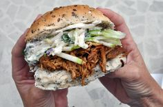 Sophie Loves Food: Recipe: Jim Beam Bourbon BBQ Chicken Sandwiches with Blue Cheese and Apple Salad