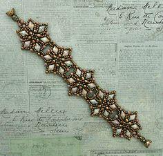 Bracelet of the Day: Starflower - Chalk Lumi Green