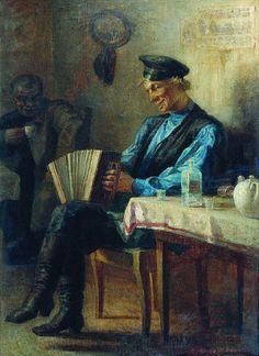 Леонид Соломаткин - В трактире   by irinaraquel