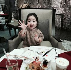 45 Ideas For Baby Love Daddy Little Girls Cute Asian Babies, Korean Babies, Asian Kids, Cute Babies, New Baby Girls, Baby Love, Baby Kids, Baby Pictures, Baby Photos