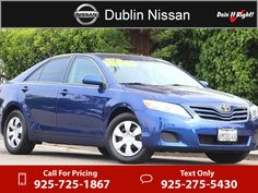 2011 Toyota Camry LE $13,200  miles 925-725-1867 Transmission: Automatic  #Toyota #Camry #used #cars #DublinNissan #Dublin #CA #tapcars