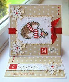 Kath's Blog......cute hedgehog & friend