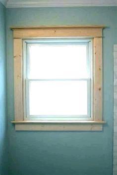Selecting Best Modern Windows Trim Ideas - Insanely Window Trim Ideas to Inspire You - White Window Trim, Window Molding Trim, Craftsman Window Trim, Window Trims, Craftsman Interior, Interior Window Trim Styles, Interior Window Sill, Interior Windows, Metal Window Frames