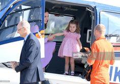 News Photo : Princess Charlotte of Cambridge and Catherine,...