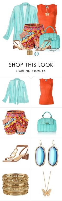 Harem Shorts Contest by sherryvl on Polyvore featuring Calypso St. Barth, M Missoni, Nine West, Salvatore Ferragamo, Forever 21, Alexander McQueen and Kendra Scott