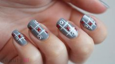 DIY Nail Art   XOXO Valentine's Day ~ Beautyill   Beautyblog met nail art, nagellak, make-up reviews en meer!