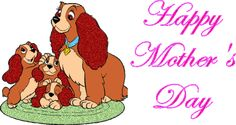 Mother's Day GIF Images & Animation Pictures 2019 Mothers Day Gif, Mothers Day Images, Mothers Love, Happy Mother's Day Gif, Golden Labrador, Lady And The Tramp, Special Quotes, Joy And Happiness, Animated Gif