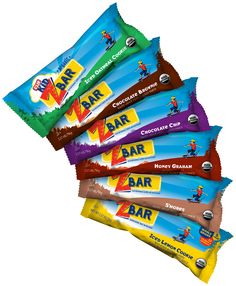 CLIF Kid Zbar is a delicious organic, baked whole grain energy bar - perfect for lunches, games, or afternoon snacking!