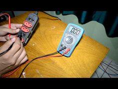 Como medir voltagem com o multimetro - YouTube