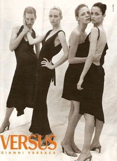 Tanga Moreau, Amy Wesson, Kirsten Owen and Danielle Zinaich by Bruce Weber