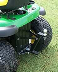 Great Day Lawn Pro Hi-Hitch - Day Lawn Pro Hi-HitchRiding Lawnmowers have the power and the low center of gravity to be natural towing John Deere Riding Mowers, Riding Lawn Mowers, Atv Riding, Utility Trailer, Trailer Hitch, Trailer Diy, Lawn Mower Trailer, Garden Tractor Attachments, Riding Mower Attachments