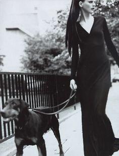 Stella tennant  by Regan Cameron, 1997